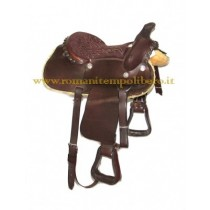 Sella Western Pony -Selleria Romani tempo libero - Selleriainternet.it