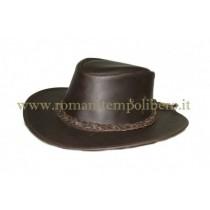 Cappello western cuoio -Selleria Romani tempo libero - Selleriainternet.it