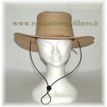 Cappello Australiano in pelle -Selleria Romani tempo libero - Selleriainternet.it