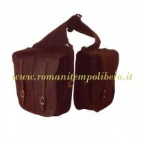 Bisacce posteriore Nabuk -Selleria Romani tempo libero - Selleriainternet.it