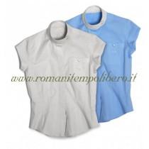 Camicia Tattini donna maniche corte -Selleria Romani tempo libero - Selleriainternet.it