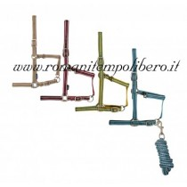 Cavezza Tattini con longhina righe -Selleria Romani tempo libero - Selleriainternet.it