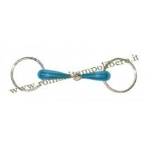Filetto ad anelli acciaio blu -Selleria Romani tempo libero - Selleriainternet.it