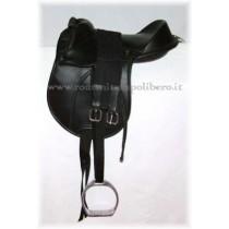 Sella Pony con maniglia -Selleria Romani tempo libero - Selleriainternet.it