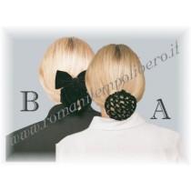 Retina per capelli decorata -Selleria Romani tempo libero - Selleriainternet.it