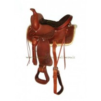 Sella Western Pony Lakota -Selleria Romani tempo libero - Selleriainternet.it
