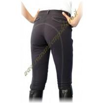 Pantalone donna cuciture a contrasto -Selleria Romani tempo libero - Selleriainternet.it