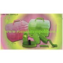 Bauletto Kit Grooming Fluorescente -Selleria Romani tempo libero - Selleriainternet.it