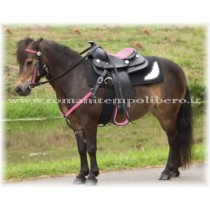 Sella Western Pony Think Pink -Selleria Romani tempo libero - Selleriainternet.it