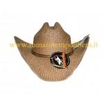Cappello Western Paglia